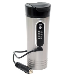 12-Volt 15oz. Premium Heated Travel Mug RP0719