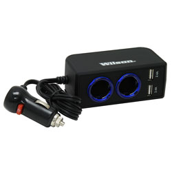 12-Volt Dual 2.4A USB Adapter with 3' Cord 3052224USBBL