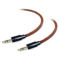6' Tough Tested Auxiliary Cable TTF6AUX