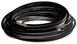 50' Coaxial Cable with RG6 Connectors - Black VHB-655X