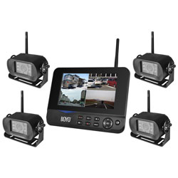 Digital Wireless Monitor and Wireless 4 Camera System VTC700RQ4