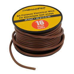 16-Gauge 25' All Purpose Electrical Wire Spool RP1625