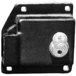 Keyed Alike Enforcer Trailer Lock Box 8055W-KA