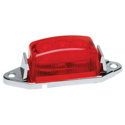 1.75x1 LED Clearance/Marker Light Red Lens RP-1445R
