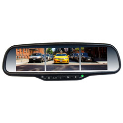 Multiple Screen 3.5 LCD-In-One Rear View OE Style Mirror Monitor