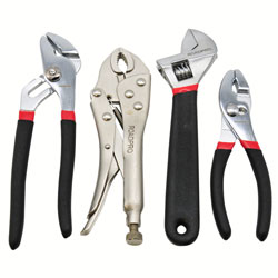 4-Piece Pliers & Wrench Set 04087201DB