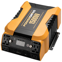 1500 Watt Bluetooth (R) Power Inverter with 4 AC  2 USB and APP