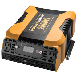 2000 Watt Bluetooth (R) Power Inverter with 4 AC  2 USB and APP