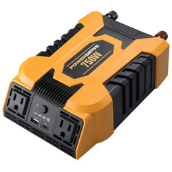 750 Watt Power Inverter with 2 AC  USB 2.4A and USB-C(TM) 3.0A P