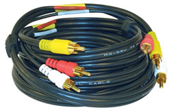 6' Stereo Audio/Video Cable with RCA Plugs VH-84